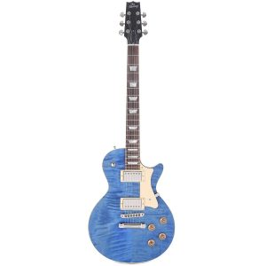 Heritage Standard H-150 Solid Electric Guitar con Case, Washed Blue