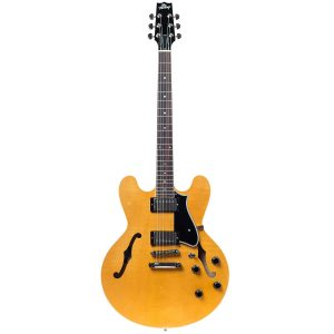 Heritage Standard H-535 Semi-Hollow Electric Guitar con Case, Antique Natural