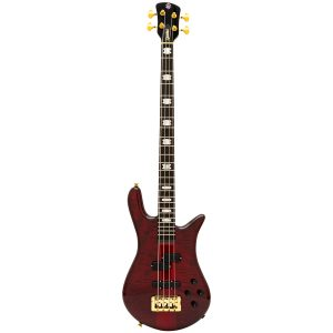 Spector Euro4 LT Red Fade Gloss – Weight Relief, Ebony Fingerboard, Bartolini/Darkglass