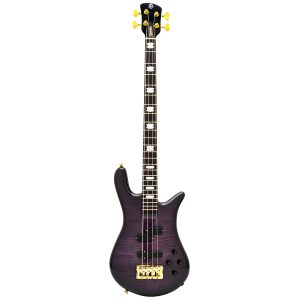 Spector Euro4 LT Violet Fade Gloss – Weight Relief, Ebony Fingerboard, Bartolini/Darkglass