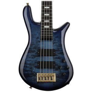 Spector Euro5 LT Blue Fade Gloss – Weight Relief, Ebony Fingerboard, Bartolini/Darkglass