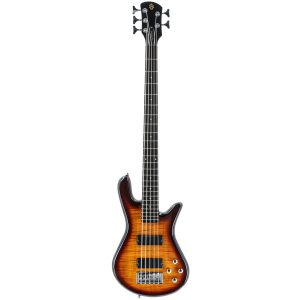 Spector Legend 5 Standard Tobacco Sunburst Gloss