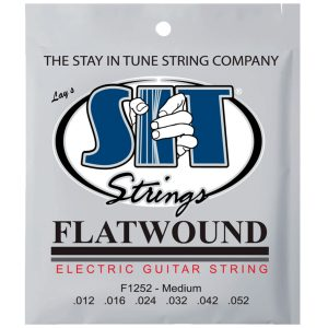 SIT Strings Flatwound Electric Guitar F1252 12-52