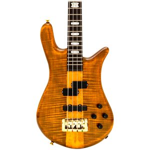 Spector Euro4LT Tiger Eye Gloss – Weight Relief, Ebony Fingerboard, Bartolini/Darkglass