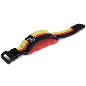 Gruv Gear FretWraps World Flags Black/Red/Yellow (Medium)
