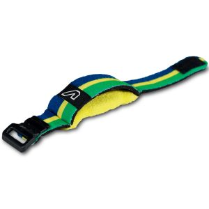 Gruv Gear FretWraps World Flags Green/Yellow/Blue (Medium)