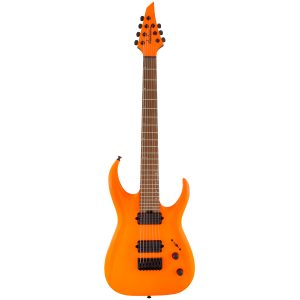 Jackson HT7 Juggernaut Misha Mansoor Signature Serie Pro, Caramelized Maple Fingerboard, Neon Orange