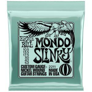 Ernie Ball 2211 Nickel Wound Electric Mondo Slinky 10.5-52