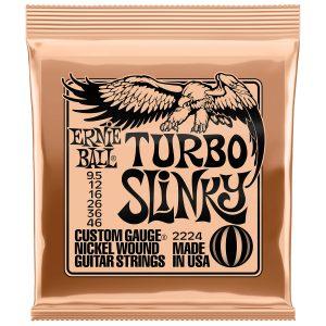 Ernie Ball 2224 Nickel Wound Electric Turbo Slinky 9.5-46