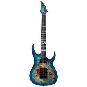 Solar Guitars S1.6BLB –  Blue Burst Matte