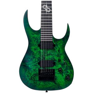 Solar Guitars S1.7LB – Lime Burst Matte