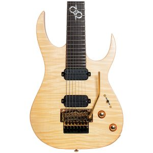 Solar Guitars SB1.7FRFM – Flame Natural Matte