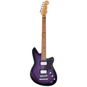 Reverend Guitars Descent RA (Baritone) – Purple Burst