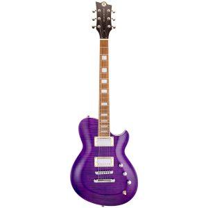 Reverend Guitars Roundhouse FM – Purple Flame Maple