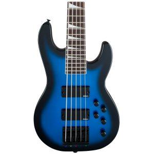 Jackson JS Series Concert Bass JS3V – Metallic Blue Burst – AM