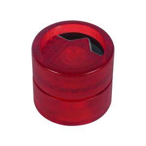HawkeyeKnob Aura Rojo Transparente + Negro (3 Unidades)
