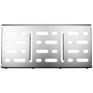 Mono Pedalboard Large Silver + Pro Accessory Case 2.0