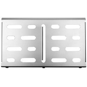 Mono Pedalboard Medium Silver + Tour Accessory Case 2.0