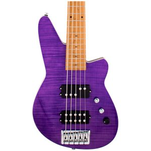 Reverend Guitars Mercalli 5 FM Trans Purple